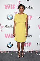 BEVERLY HILLS, CA June 13- Jessica Williams, at Women In Film 2017 Crystal + Lucy Awards presented by Max Mara and BMWGayle Nachlis at The Beverly Hilton Hotel, California on June 13, 2017. Credit: Faye Sadou/MediaPunch