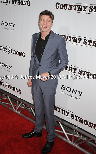 "LOS ANGELES, CA. - December 14: Garrett Hedlund arrives at the Premiere of ""Country Strong"" at the Academy of Motion Picture Arts and Sciences on December 14, 2010 in Beverly Hills, California."
