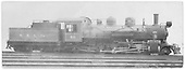 Side view of locomotive 60.  ALCO builders photo.<br /> Oahu Railway and Land Co.  ALCO, Schenectady, NY  3/1925