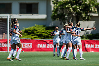 Seattle, WA - Sunday, June 23, 2018: Seattle Reign FC vs North Carolina Courage at the UW Medicine Pitch at Memorial Stadium.
