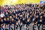 Students from Caherlaheen National School during their Grandparents day on Friday.