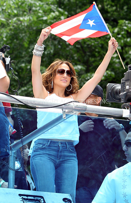 WWW.ACEPIXS.COM . . . . .  ....June 10 2007, New York City....Recording artist Jennifer Lopez took part in the 50th Anniversary of the National Puerto Rican Day Parade along 5th Avenue in midtown Manhattan.....Please byline: NANCY RIVERA- ACE PICTURES.... *** ***..Ace Pictures, Inc:  ..tel: (646) 769 0430..e-mail: info@acepixs.com..web: http://www.acepixs.com