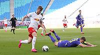 16th May 2020, Red Bull Arena, Leipzig, Germany; Bundesliga football, Leipzig versus FC Freiburg;  Timo Werner RBL goes past Dominique Heintz  SCF