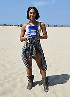 SANTA MONICA - SEPTEMBER 9:  Mj Rodriguez volunteers for FX and Disney's Summer of Service Beach Cleanup with Heal the Bay on September 9, 2019 in Santa Monica, California. (Photo by Frank Micelotta/FX/PictureGroup)