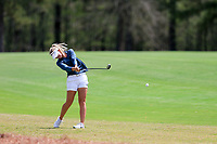 Tilda Larsson (SWE) on the 9th during the second round of the Augusta National Womans Amateur 2019, Champions Retreat, Augusta, Georgia, USA. 04/04/2019.<br /> Picture Fran Caffrey / Golffile.ie<br /> <br /> All photo usage must carry mandatory copyright credit (&copy; Golffile | Fran Caffrey)