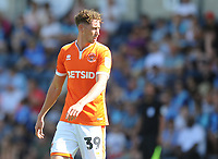 Blackpool's Joe Bunney<br /> <br /> Photographer Kevin Barnes/CameraSport<br /> <br /> The EFL Sky Bet League One - Wycombe Wanderers v Blackpool - Saturday 4th August 2018 - Adams Park - Wycombe<br /> <br /> World Copyright &copy; 2018 CameraSport. All rights reserved. 43 Linden Ave. Countesthorpe. Leicester. England. LE8 5PG - Tel: +44 (0) 116 277 4147 - admin@camerasport.com - www.camerasport.com