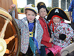 Eimear, Conor and Martha Barron pictured aboard the tallships. Photo:Colin Bell/pressphotos.ie