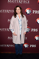 """LOS ANGELES - JAN 16:  Emily Watson at the PBS Masterpiece """"Little Women"""" TV show panel, Arrivals, TCA Winter Press Tour at the Langham Huntington Hotel on January 16, 2018 in Pasadena, CA"""