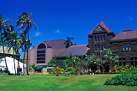 The Bishop musuem, near Honolulu, on the Island of Ohau