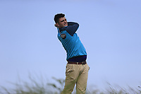 Shane McGlynn (Portmarnock) during the 1st round of the East of Ireland championship, Co Louth Golf Club, Baltray, Co Louth, Ireland. 02/06/2017<br /> Picture: Golffile | Fran Caffrey<br /> <br /> <br /> All photo usage must carry mandatory copyright credit (&copy; Golffile | Fran Caffrey)