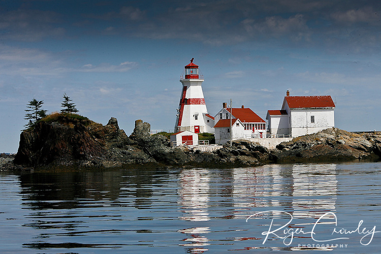 Roger Crowley / CrowleyPhotos.com ..Lighthouse on Campobello Island New Brunswick, Canada