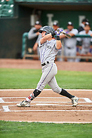 Will Golsan (11) of the Grand Junction Rockies bats against the Ogden Raptors at Lindquist Field on July 25, 2018 in Ogden, Utah. The Rockies defeated the Raptors 4-0. (Stephen Smith/Four Seam Images)