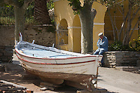 Europe/France/Corse/2B/Haute-Corse/Erbalunga: Pointu sur le  port