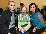 Rachel, Katie and Hillary Teefy at the Comhaltas Céilí in Ballsgrove Community Centre. Photo:Colin Bell/pressphotos.ie