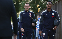 Chris Gunter of Reading arrives at Madejski Stadium prior to kick off of the Carabao Cup Third Round match between Reading and Swansea City at Madejski Stadium, Reading, England, UK. Tuesday 19 September 2017
