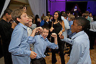 Kids dancing at a Bar Mitzvah