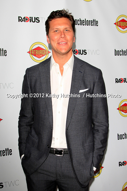 "LOS ANGELES - AUG 23:  Hayes MacArthur arrives at the ""Bachelorette"" Premiere at ArcLight Cinema Theaters on August 23, 2012 in Los Angeles, CA"