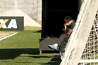 SAO PAULO, SP 18 JULHO 2013 - TREINO CORINTHIANS - O técnico Tite do Corinthians, durante o treino de hoje, 18, no Ct. Dr. Joaquim Grava, na zona leste de São Paulo. FOTO: PAULO FISCHER/BRAZIL PHOTO PRESS