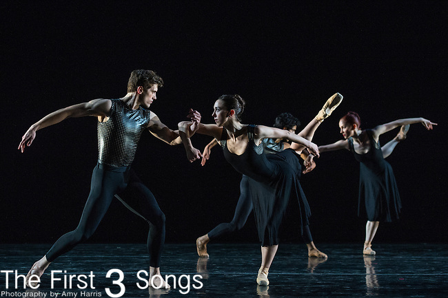 The Cincinnati Ballet performs at the Joyce Theater in New York City.