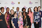 Candace Matthews, Tina Lundgren, Dr. William King, , Ellen Lowey - front Sharon Cohen - Figure Skating in Harlem celebrates 20 years - Champions in Life benefit Gala on May 2, 2017 at 583 Park Avenue, New York City, New York. (Photo by Sue Coflin/Max Photos)