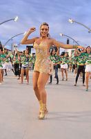 SÃO PAULO, SP, 03 DE FEVEREIRO DE 2013 - ENSAIO TÉCNICO MANCHA VERDE - Juju Salimeni durante ensaio técnico da Escola de Samba Mancha Verde na preparação para o Carnaval 2013. O ensaio foi realizado na noite deste domingo (03) no Sambódromo do Anhembi, zona norte da cidade. FOTO LEVI BIANCO - BRAZIL PHOTO PRESSnsaio técnico da Escola de Samba Mancha Verde na preparação para o Carnaval 2013. O ensaio foi realizado na noite deste domingo (03) no Sambódromo do Anhembi, zona norte da cidade. FOTO LEVI BIANCO - BRAZIL PHOTO PRESS