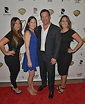 CORAL GABLES, FL - FEBRUARY 28: Iris Valdez, Ana Diaz, Victor Barroso and Andrea Dominguez attend the Miami Premiere of RatPac Documentary Films One Day Since Yesterday: Peter Bogdanovich and the Lost American Film' followed by Q&A at Miracle Theater inside the Actors Playhouse on February 28, 2017 in Coral Gables, Florida. ( Photo by Johnny Louis / jlnphotography.com )