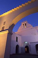Kirche Eglesia de Sant Antoni in  Sant Antoni de Portmany, Ibiza, Balearen, Spanien