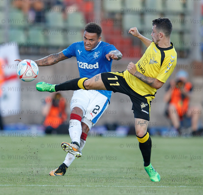 James Tavernier and Mike Schneider