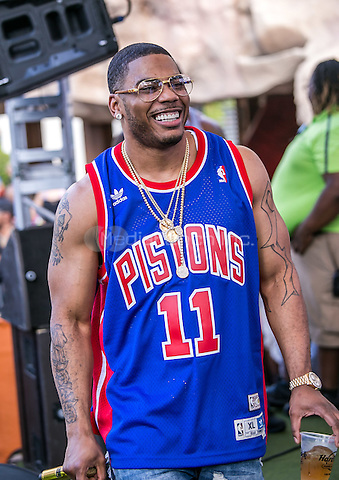LAS VEGAS, NV - September 6: ***HOUSE COVERAGE*** Nelly at Rehab at Hard Rock Hotel & Casino in Las Vegas, NV on September 6, 2015. Credit: GDP Photos/ MediaPunch