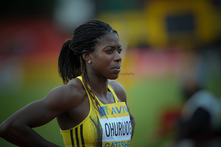 Photo: Ady Kerry/Richard Lane Photography..Aviva British Grand Prix. 31/08/2009. .Christine Ohuruogu in the 400m
