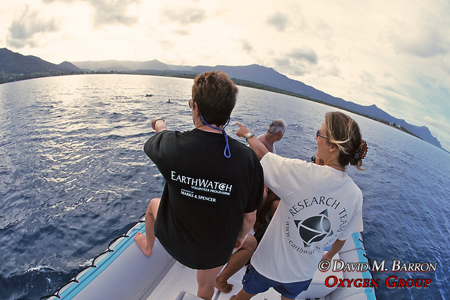 Janice & Delphine Observing Spinner Dolphin