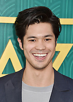 HOLLYWOOD, CA - AUGUST 07:  Ross Butler arrives at the Warner Bros. Pictures' 'Crazy Rich Asians' premiere at the TCL Chinese Theatre IMAX on August 7, 2018 in Hollywood, California.<br /> CAP/ROT/TM<br /> &copy;TM/ROT/Capital Pictures