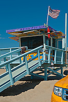 Venice Beach, CA, Breakwater, Lifeguard Station, rescue Truck, American Flag, Socal Beach, Lifeguard Stations, CA, Geometric, shapes, Lifeguard Towers,  Summer of Color exhibit, The flower, beauty, core design, elements, environment, symbol of joy, universal, youth, Seaside City, South Bay, Southern California