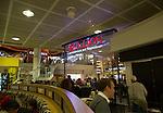 Wetherspoon Red Lion bar restaurant pub, Gatwick airport north terminal, London, England, UK