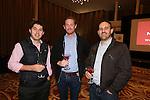 Mecure Holland House<br /> Calon Suite <br /> L-R: Tristan Brooks, Alistair Pike &amp; Chris Evans.<br /> 10.10.13<br /> <br /> &copy;Steve Pope-FOTOWALES
