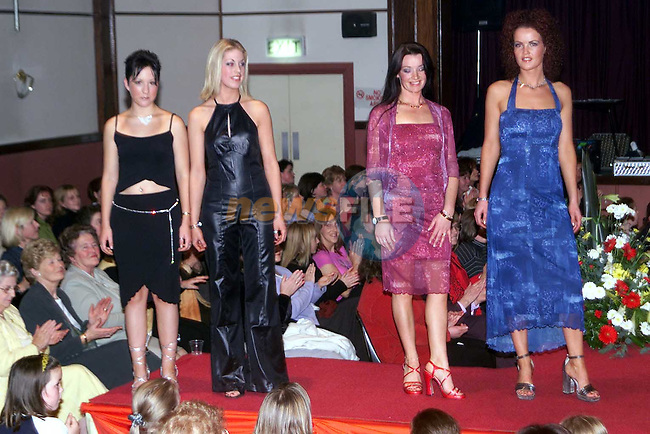 Models on the catwalk at the Scoil Mhuire na trocaire Fashion Show in the Bohemian Centre, Ardee..Picture: Paul Mohan/Newsfile