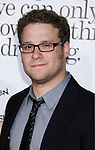 """HOLLYWOOD, CA. - October 20: Actor Seth Rogen arrives at the Los Angeles Premiere of """"Zack And Miri Make A Porno"""" at Grauman's Chinese Theater in Hollywood, California."""