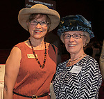Karen Penner-Johnson and Janet LeRude during the Kentucky Derby Party at The Peppermill on Saturday, May 6, 2017 in Reno, Nevada.