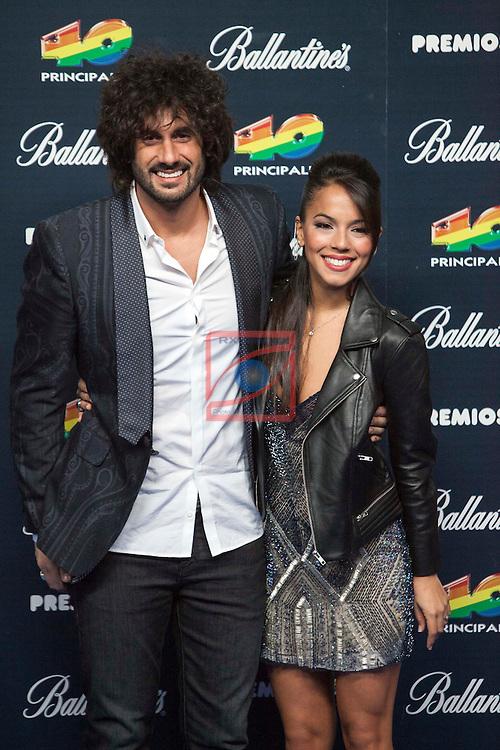 Gala Premios 40 Principales 2014.<br /> Melendi.