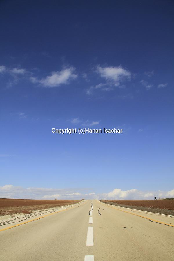Golan Heights, road 98 near Mevo Hama