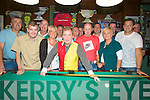 POOL: Jelly Baby the americian pool player who played in the Castle Bar, Upper Rock Street, Tralee on Monday evening were he played some of the local pool players. ...