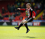 John Fleck of Sheffield Utd in action during the Championship match at Bramall Lane Stadium, Sheffield. Picture date 16th September 2017. Picture credit should read: Simon Bellis/Sportimage