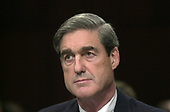 Robert S. Mueller, III appears before the United States Senate Committee on the Judiciary to be confirmed as the Director of the Federal Bureau of Investigation (FBI) on Capitol Hill in Washington, DC on July 30, 2001. If confirmed, Mueller will succeed Louis J. Freeh.<br /> Credit: Ron Sachs / CNP