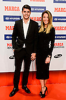 Real Madrid player Alvaro Morata with his girlfriend Alice Campello attends to the photocell of the Marca Awards 2015-2016 at Florida Park in Madrid. November 07, 2016. (ALTERPHOTOS/Borja B.Hojas) ///NORTEPHOTO.COM