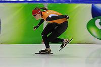 SCHAATSEN: HEERENVEEN: 31-01-2014,  IJsstadion Thialf, Training Topsport, Lotte van Beek, ©foto Martin de Jong