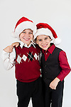 WATERBURY, CT- 10 December 2015-121015EC21-  Christmas Kids North. Dominic Criss, 7, and his brother Logan, 5 are from Harwinton. Dominic wants LEGO's and Logan wants tools and pajamas for Christmas. Erin Covey Republican-American