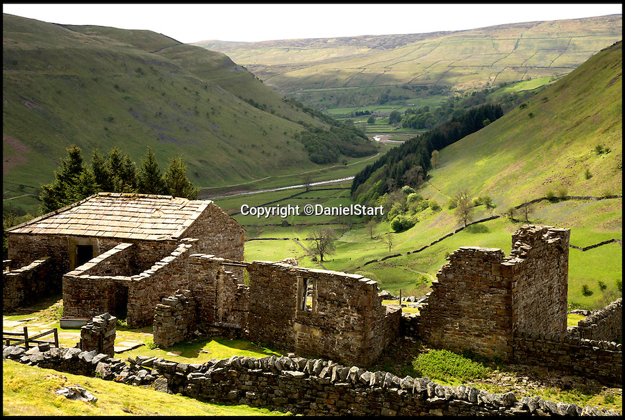 BNPS.co.uk (01202 558833)<br /> Pic: DanielStart/BNPS<br /> <br /> Crackpot Hall in the Yorkshire Dales.<br /> <br /> They are two of country's hottest holiday destinations, visited by millions of tourists each year - but now a new book has revealed the hidden gems of the Lake District and Yorkshire Dales.<br /> <br /> The guide turns its back on hotspots like Lake Windemere, Coniston, Kendal and Bowness, instead unveiling more than 400 of the best kept secrets of Britain's most popular national parks, found only off the beaten track.<br /> <br /> It lifts the lid on hidden waterfalls, huge caverns, forgotten tunnels, secret valleys and islands, bothy huts, lost ruins, magical meadows and ancient forest away from the tourist trail.<br /> <br /> The Wild Guide to the Lake District and Yorkshire Dales is published by Wild Things Publishing on June 1 and costs £15.99.
