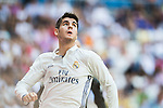 Alvaro Morata of Real Madrid in action during the La Liga match between Real Madrid and Osasuna at the Santiago Bernabeu Stadium on 10 September 2016 in Madrid, Spain. Photo by Diego Gonzalez Souto / Power Sport Images