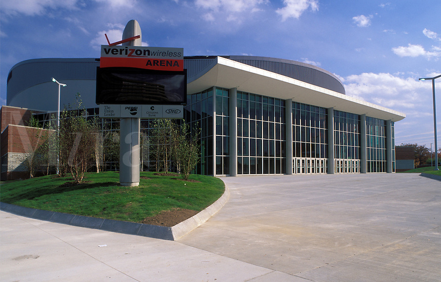 Manchester, NH, New Hampshire, Verizon Wireless Arena in Manchester.