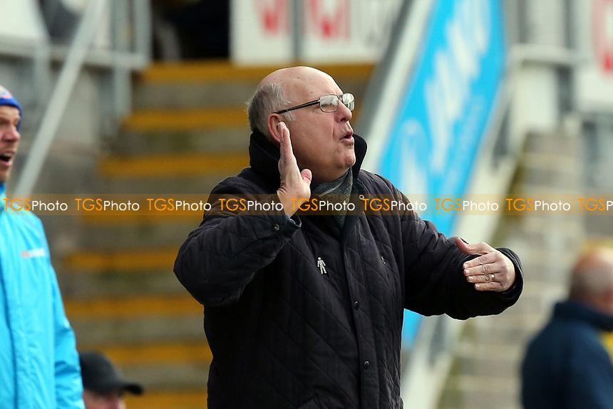 Dagenham manager John Still during Torquay United vs Dagenham & Redbridge, Vanarama National League Football at Plainmoor on 17th February 2018